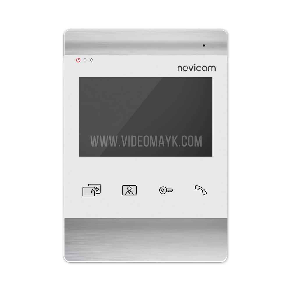 """MAGIC 4 WHITE HD - 4.3"""" монитор HD домофона с записью"""