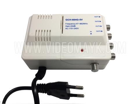 LA-604G Усилитель RTM  МВ+ДМВ (47-862 МГц) регул.