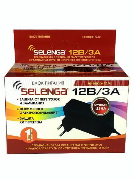 Блок питания SELENGA 12V / 3A