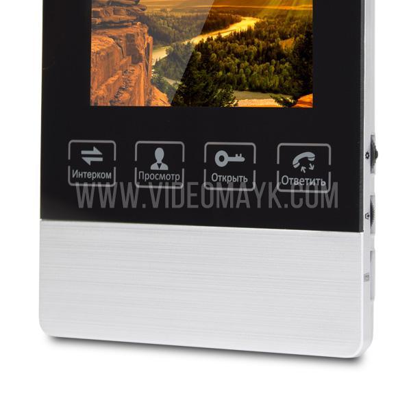 AD-470M S-Black Видеодомофон ATIS