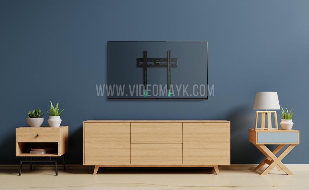 """ONKRON кронштейн для телевизора 32""""-65"""" фиксированный, чёрный FM2"""