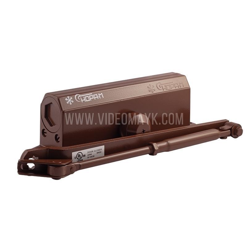 НОРА-М Доводчик №4S (до 120 кг) (коричневый) мороз