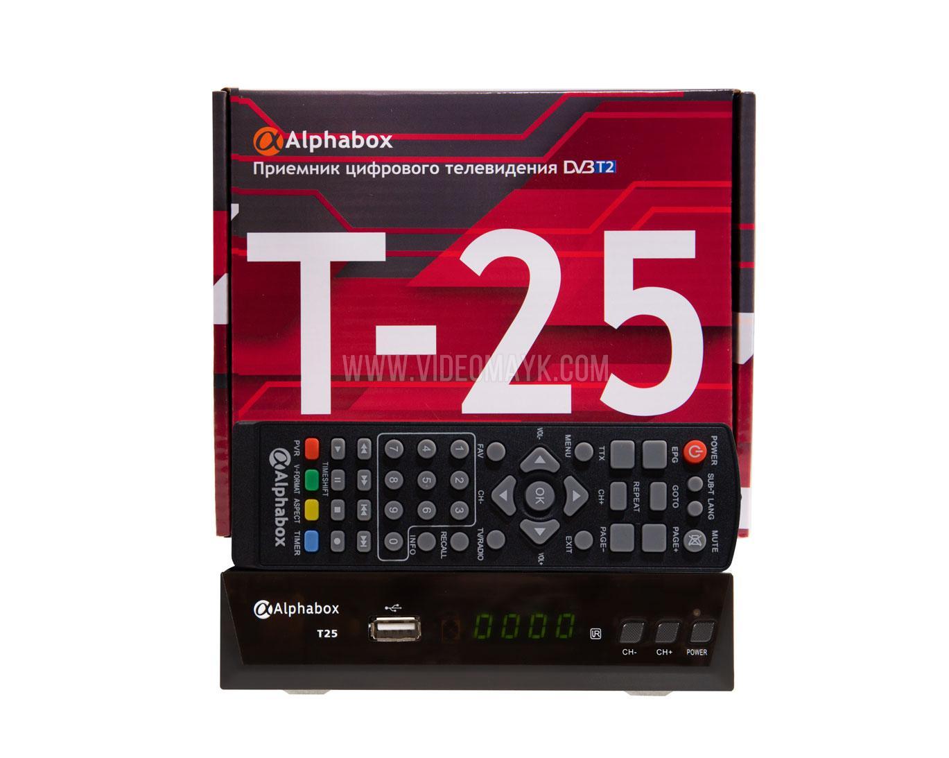 Ресивер Alphabox T25