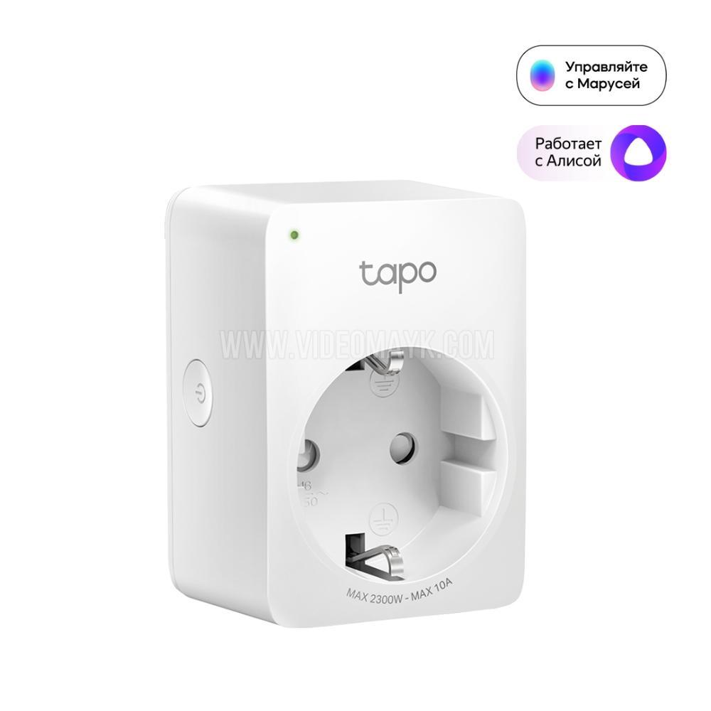 Умная мини Wi-Fi розетка TAPO P100
