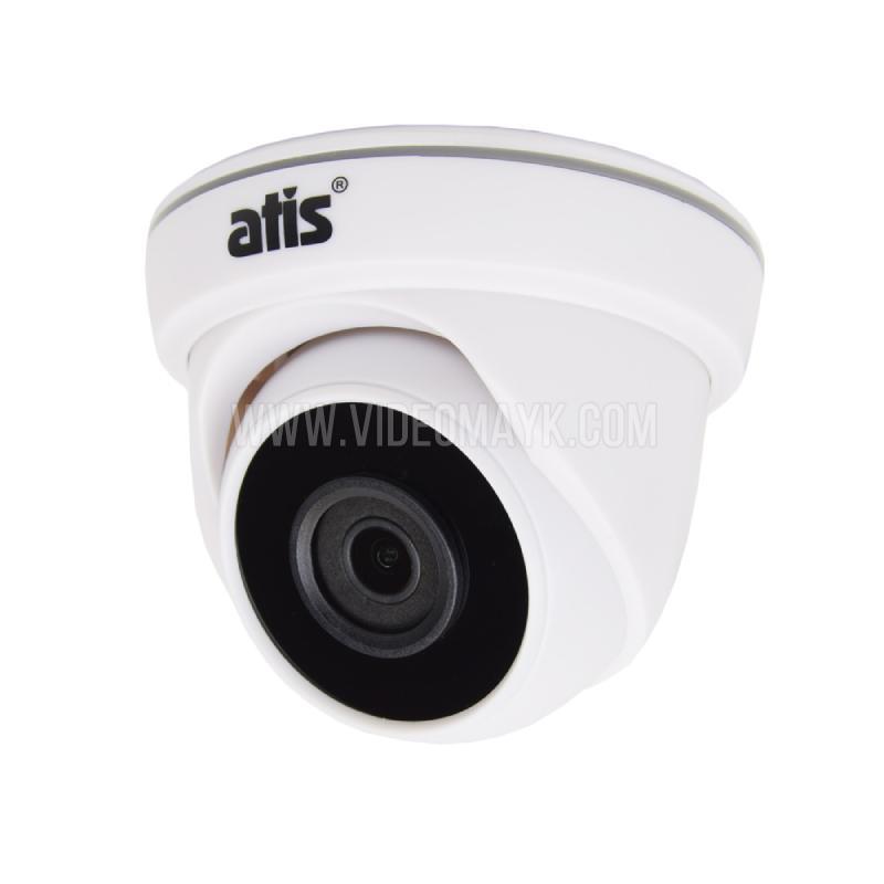 Видеокамера AMD-2MIR-20W/2.8 Lite цветная купольная для видеонаблюдения