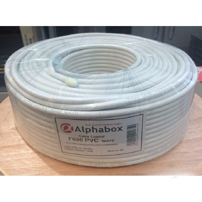 Кабель Alphabox F690 White