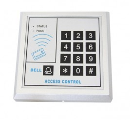 Контроллер+считыватель АК-210(Yk-168) клав-ра пластиковая