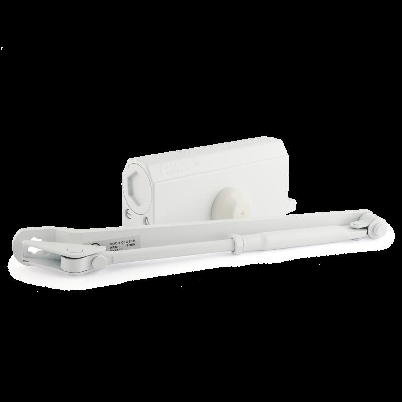 НОРА-М Доводчик №4S (до 120 кг) (белый) морозостойкий