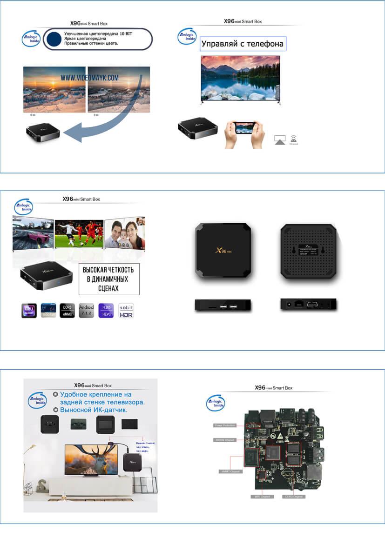 b0ab8f38d83af TV-приставка Android X96 mini 2/16G + IR – купить в Донецке по ...