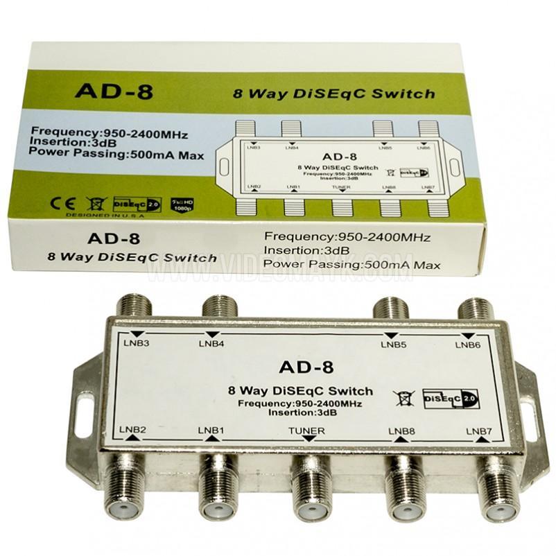 DiSEqC 8х1 Alphabox AD-8