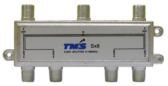 Делитель абонентский Split Sx6 TMS