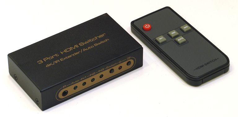 HDMI Switch 3*1 HDSW0013M1 (ver 1.4, 1080p)