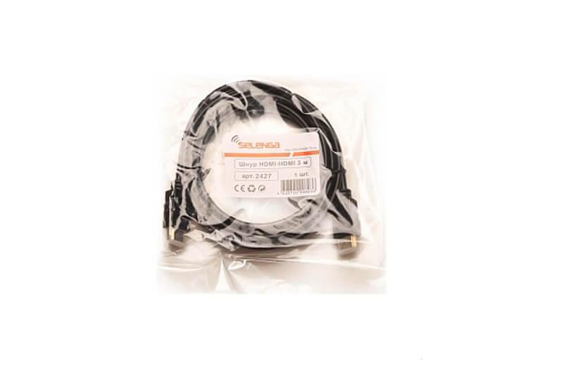 Шнур соединительный HDMI-HDMI SELENGA 1.5 м