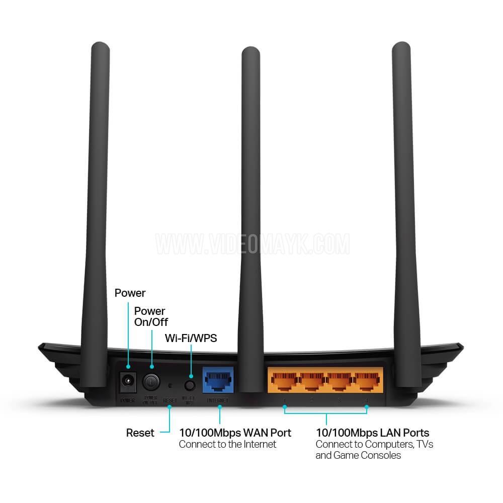 TL-WR940N - 450 Мбит/с беспроводной маршрутизатор серии N