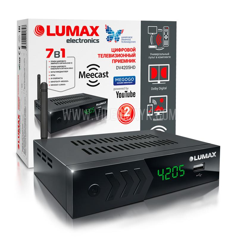 DV4205HD Цифровой телевизионный приемник LUMAX