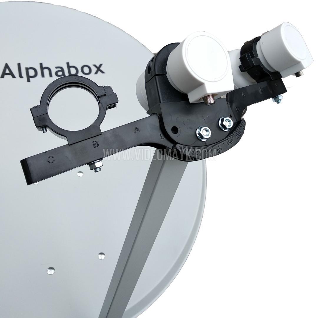 Спутниковая антенна 100 см Alphabox