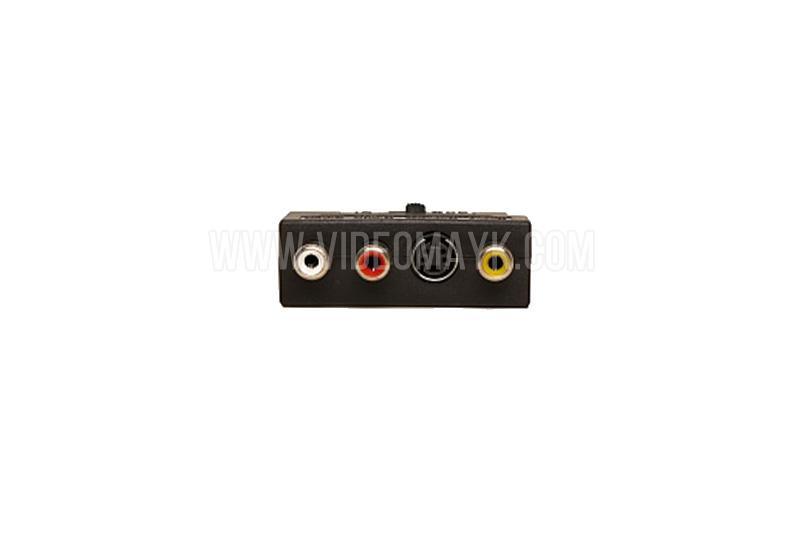 Переходник SCART-3 RCA+SVHS с переключателем SELENGA