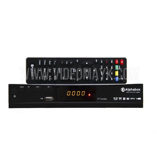 Alphabox X7 Combo HD DVB-S2/T2/C ВЧ модулятор
