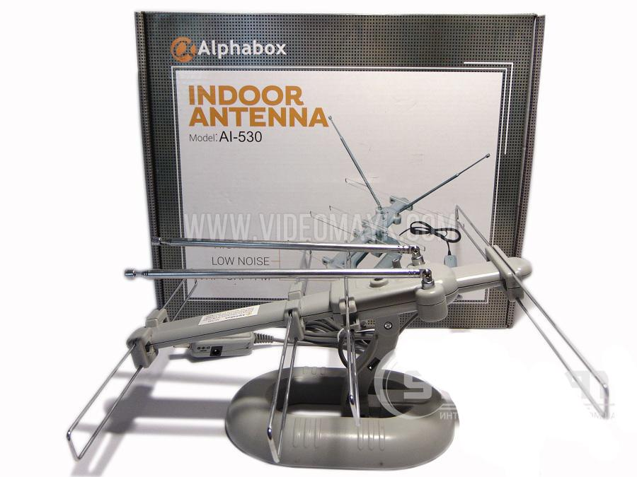 Антенна комнатная Alphabox AL-530