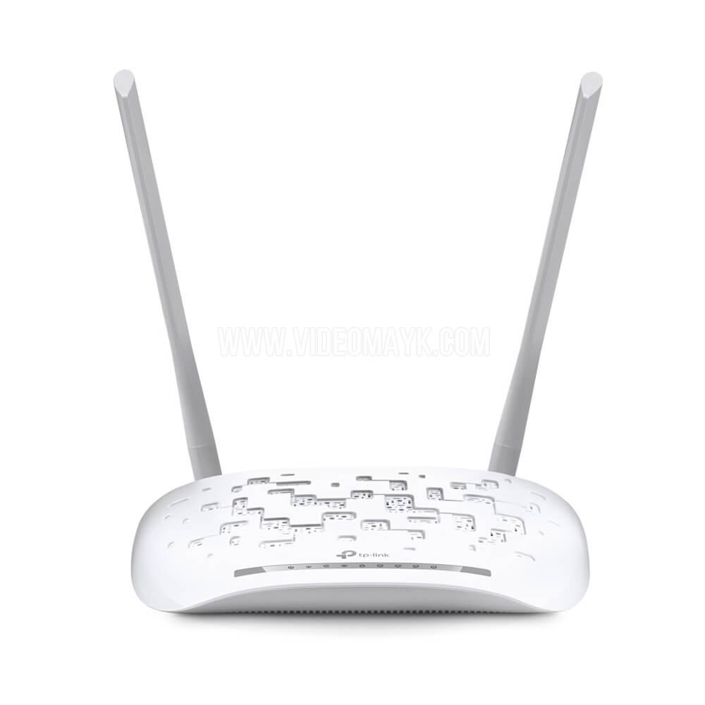 TP-Link TD-W8961N Беспроводной маршрутизатор с модемом ADSL2+ N300 Мбит/с