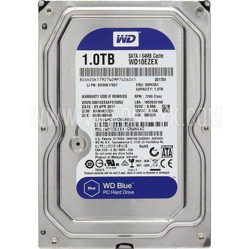 Жесткий диск Western Digital Blue 1 Тб WD10EZEX SATA